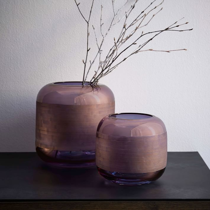 Modern vases from West Elm
