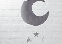 Moon and star mobile from The Land of Nod