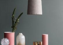 Moss meets dusty pink at Broste Copenhagen