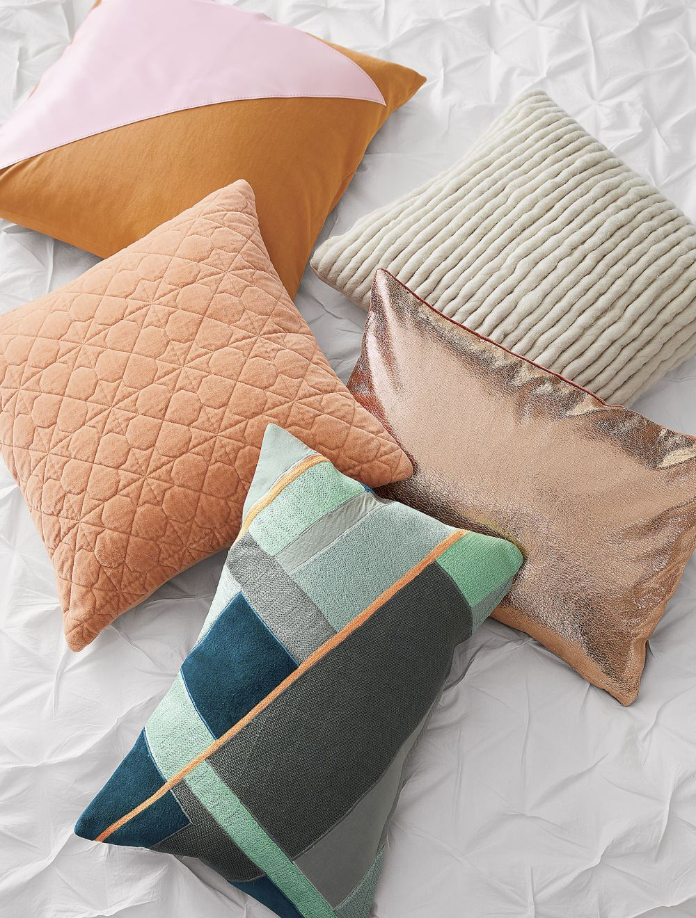 New pillows in fall tones