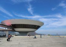 Niterói Contemporary Art Museum panorama