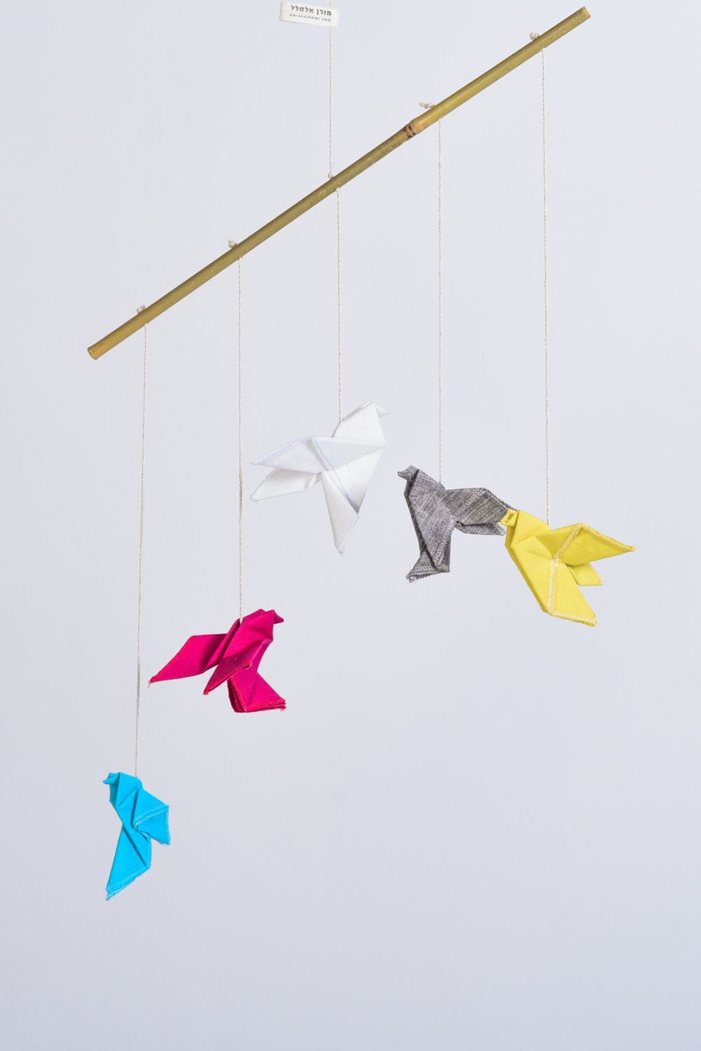 Origami mobile from Moran Alhalel