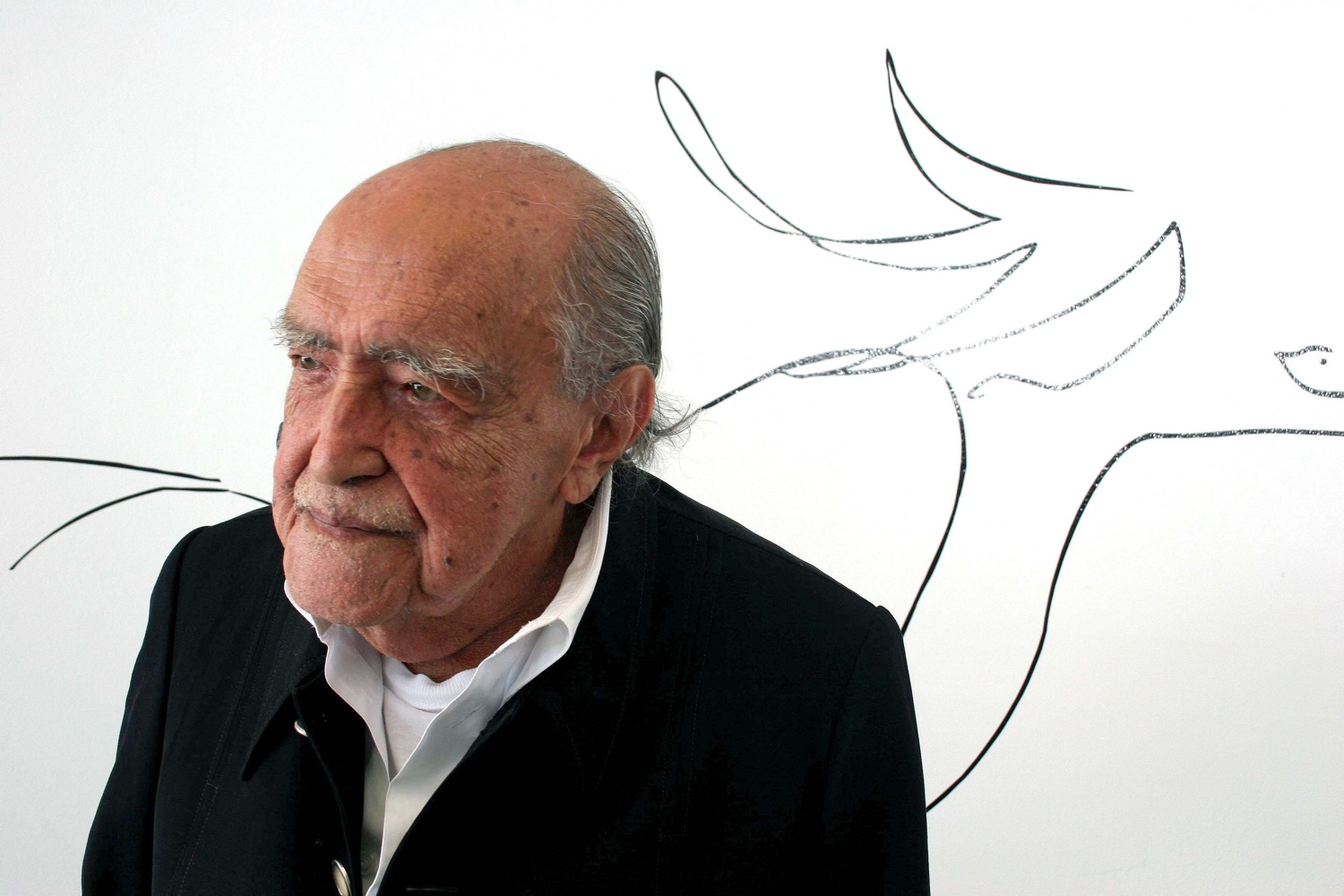 Oscar Niemeyer. Photo via by Kamy.