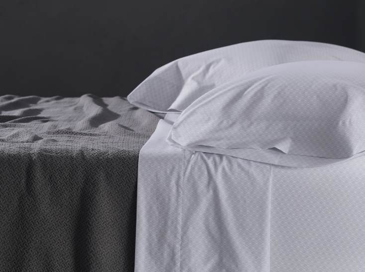 Patterned organic sheets from Coyuchi