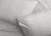 Percale sheet set from CB2