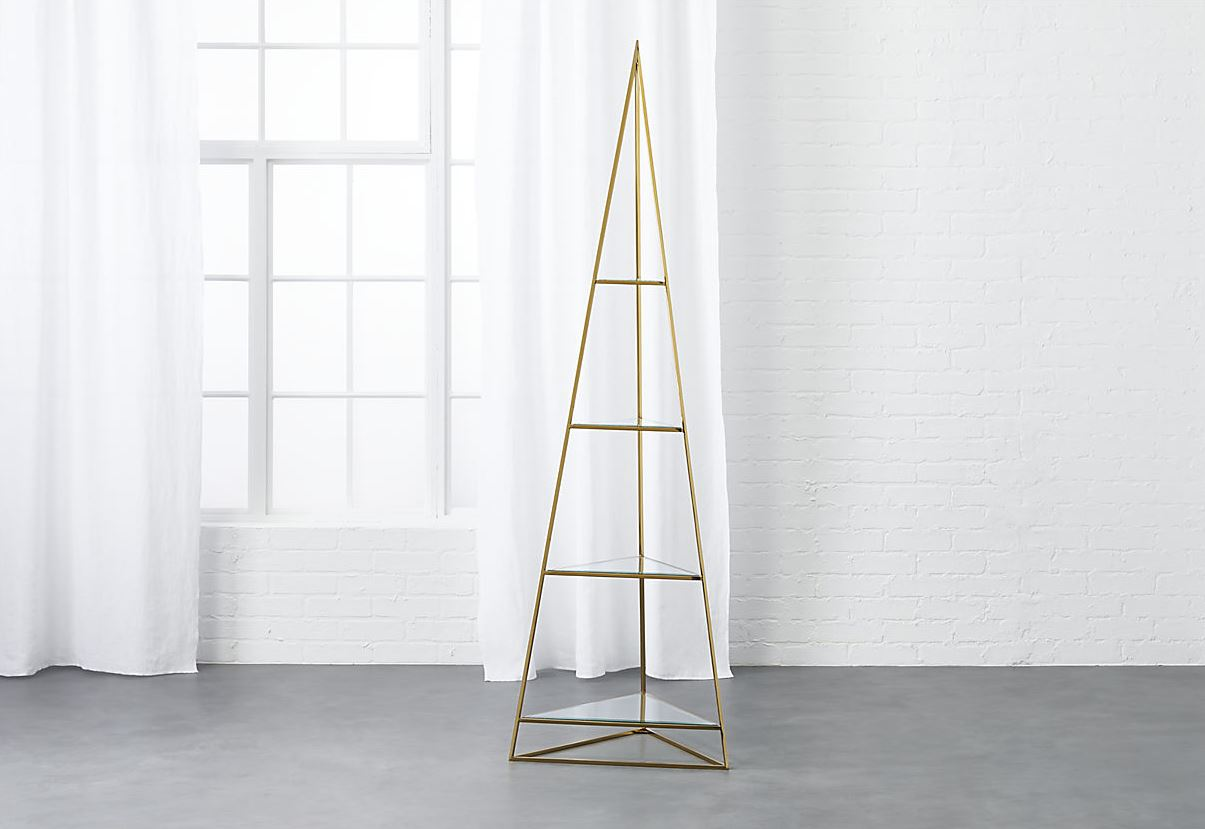 Pyramid etagere from CB2