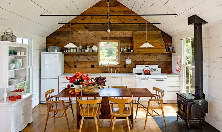 & 20 Gorgeous Ways to Add Reclaimed Wood to Your Kitchen