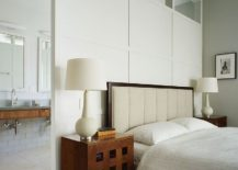 Replace the rigid wall between master bedroom and bath with a smart divider 217x155 15 Creative Room Dividers for the Space Savvy and Trendy Bedroom