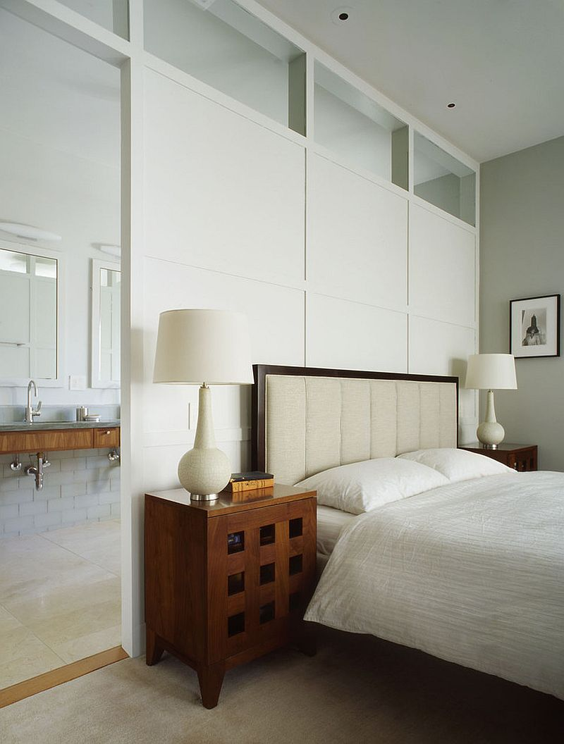 15 creative room dividers for the space savvy and trendy for Master bed and bath remodel