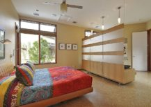 Room-divider-in-the-contemporary-master-bedroom-with-floating-panels-217x155