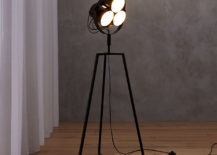 Rotating floor lamp from CB2
