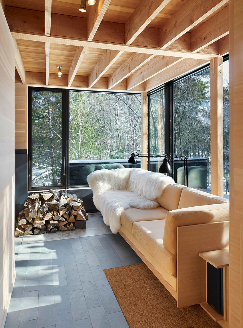 Scandinavian and rustic styles rolled into one [Design: Ian MacDonald Architect]