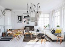 Scandinavian apartment design in white 217x155 Nordic Inspiration: Exquisite Scandinavian Apartment in White