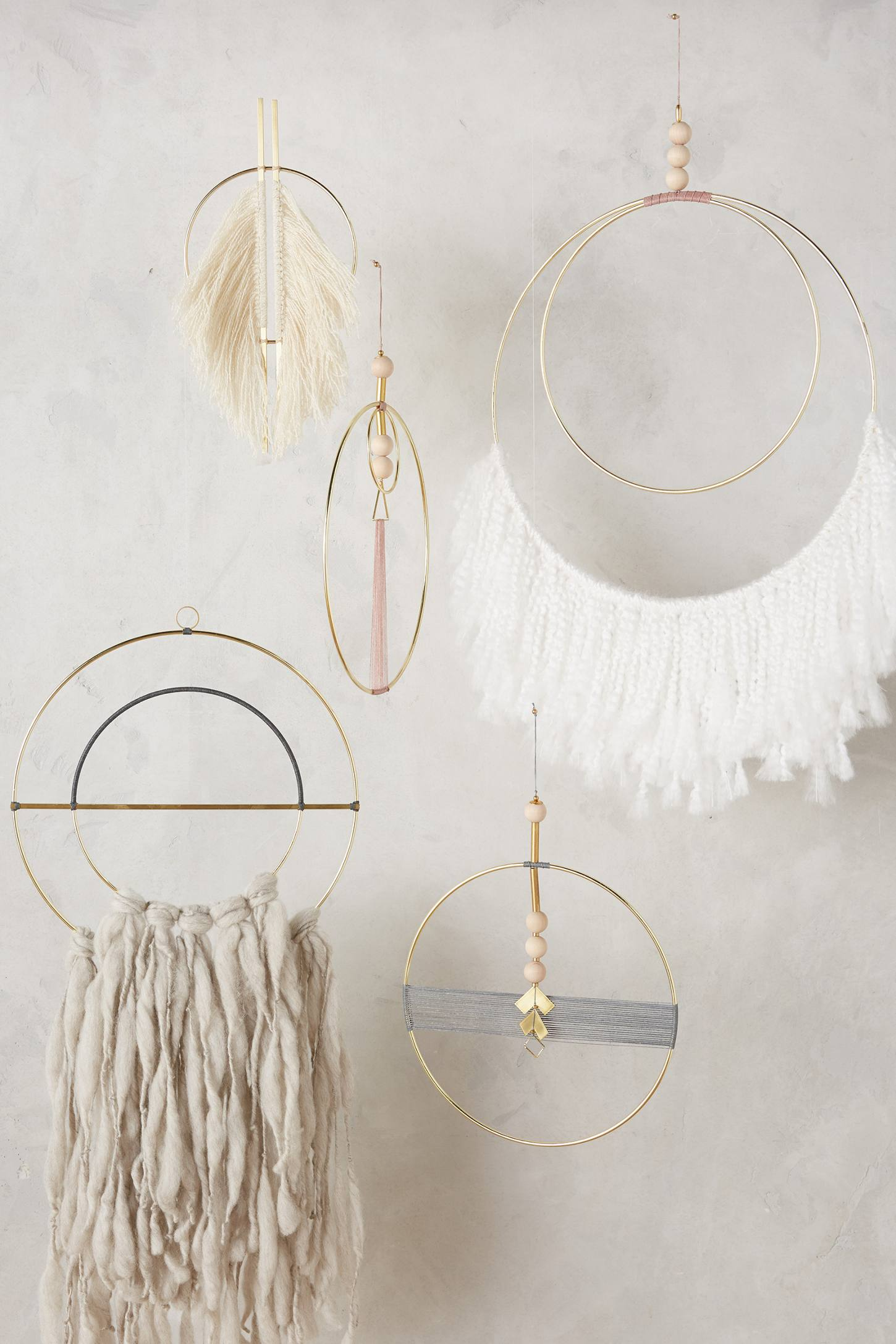 Sculptural wall art from Anthropologie