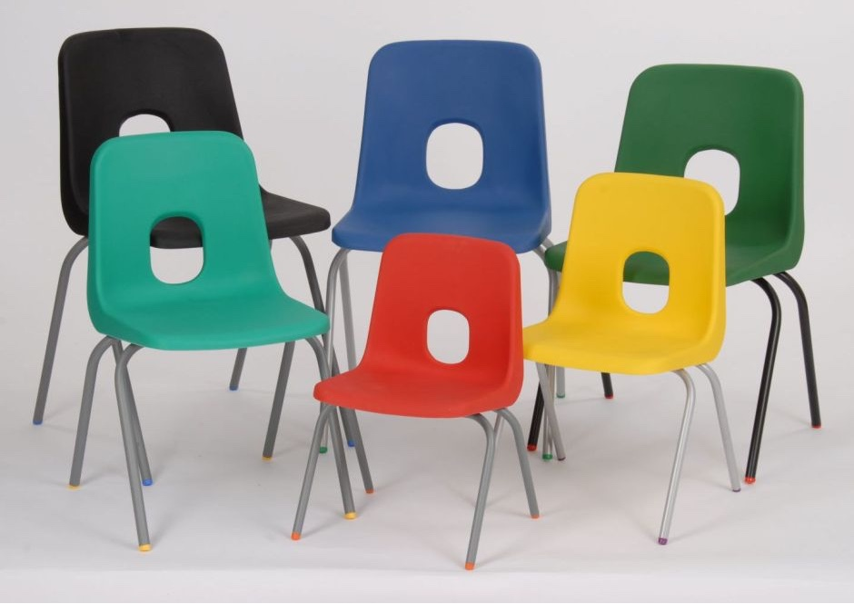 Series E School Chairs. Image © Online Reality 2016.
