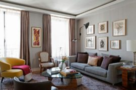 Brazilian Panache Meets Parisian Charm Inside This Chic Modern Apartment