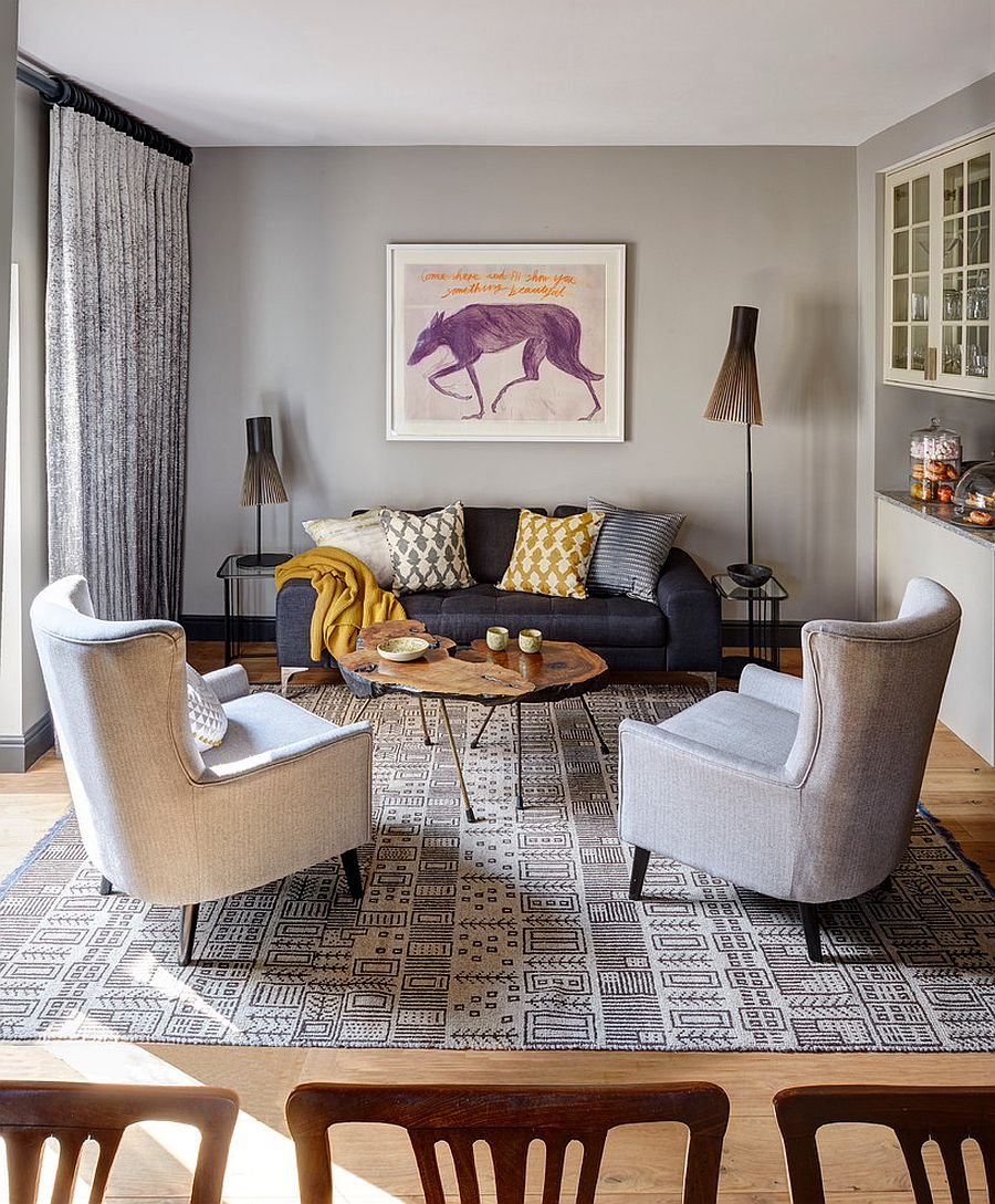 30 live edge coffee tables that transform the living room Round coffee table in living room