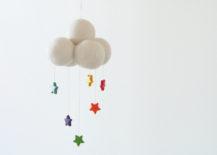 Star nursery mobile from Etsy shop Fairyfolk