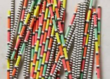 Striped party straws from Anthropologie 217x155 A Party Planning Guide for Design Lovers
