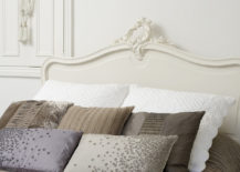 Taupe bedding offsets white walls 217x155 How to Decorate with the Color Taupe