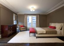 Taupe-meets-red-in-a-modern-bedroom-217x155
