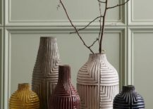 Textural vases from West Elm
