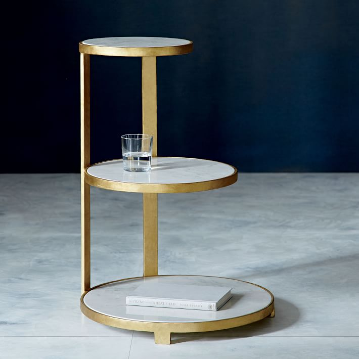 Tiered side table from West Elm