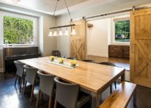 Traditional-dining-room-with-sliding-barn-door-217x155