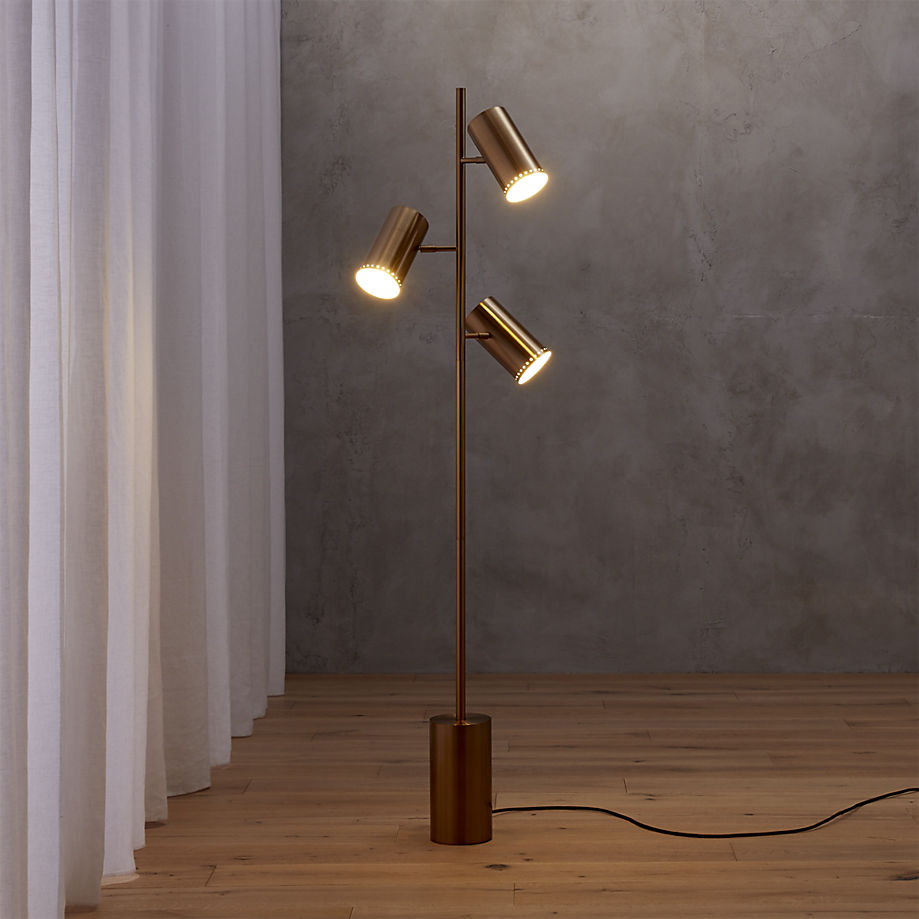 corner lighting. View In Gallery Trio Floor Lamp From CB2 Corner Lighting I