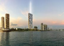 Unobstructed bay views offered by Auberge Miami