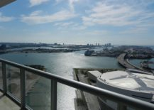 Unobstructed views of Biscayne Bay from Marinablue