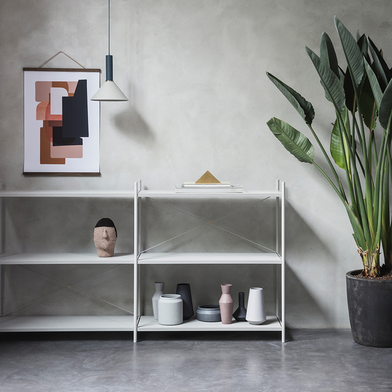 Vases and artwork from ferm LIVING