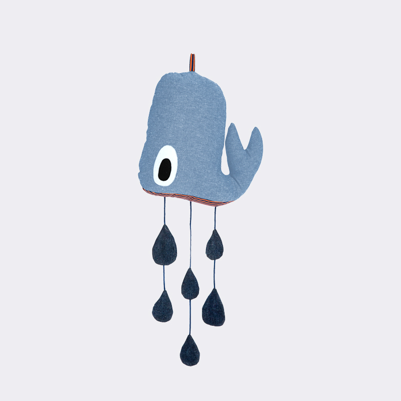 Whale mobile from ferm LIVING