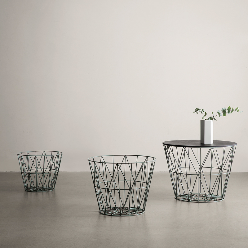 Wire baskets from ferm LIVING