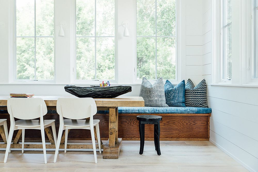 Delicieux Refined Simplicity: 20 Banquette Ideas For Your Scandinavian ...