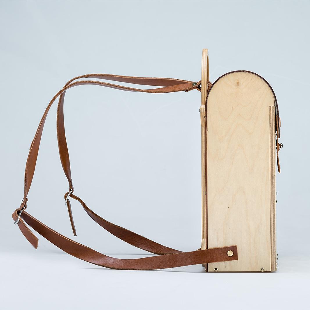1.05 kilo backpack by Galym Kairalapov.