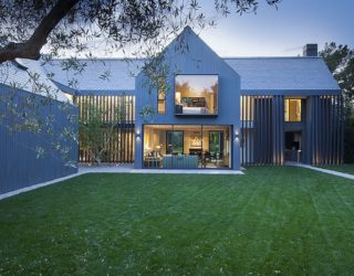 1980s Manor House Revitalized into a Captivating Contemporary Home