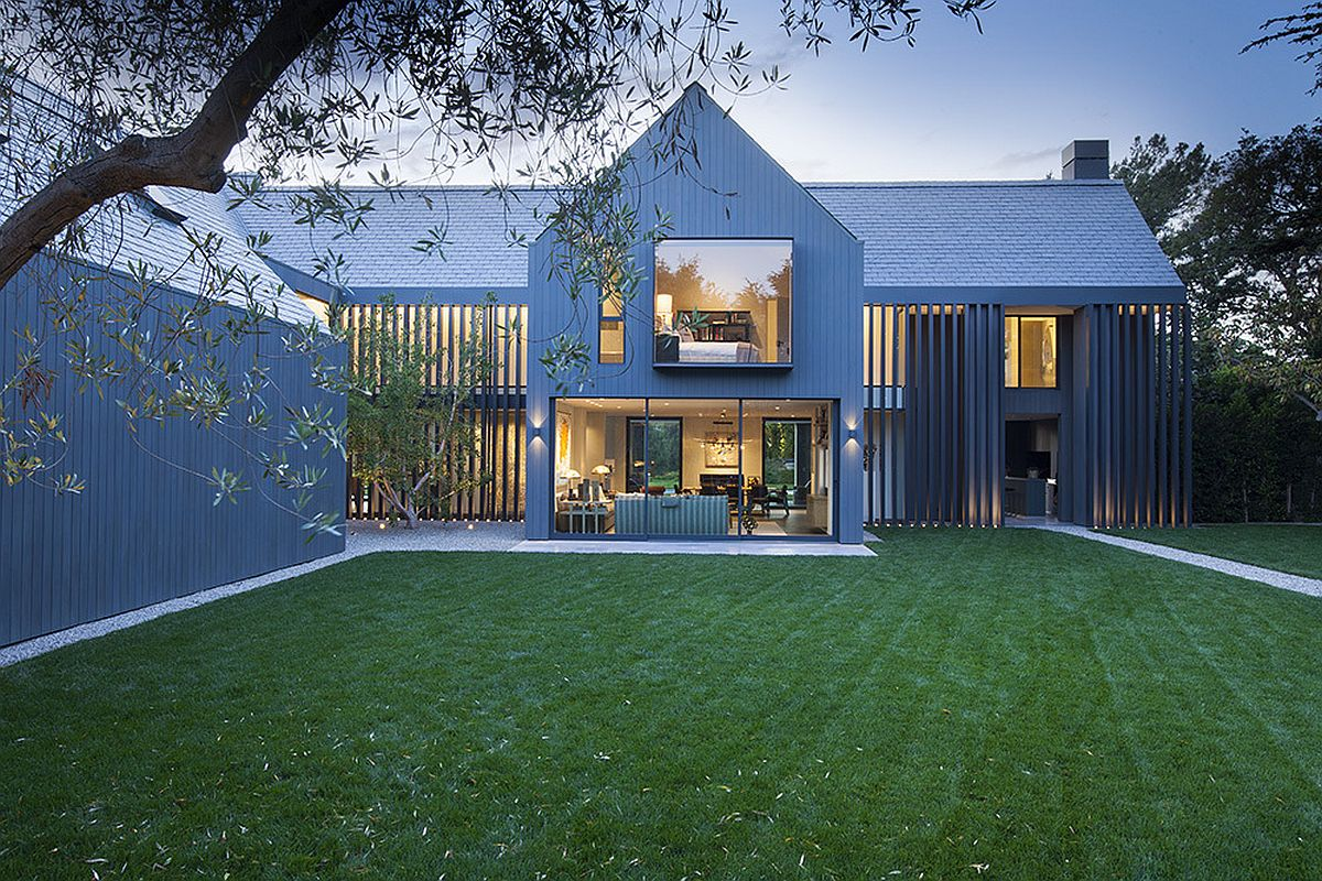 1980s manor house turned into contemporary farmhouse in LA