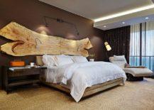 A-stunning-addition-to-the-headboard-wall-raw-slab-of-wood-217x155