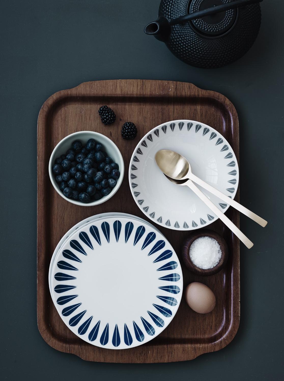 Lotus plates and bowls.