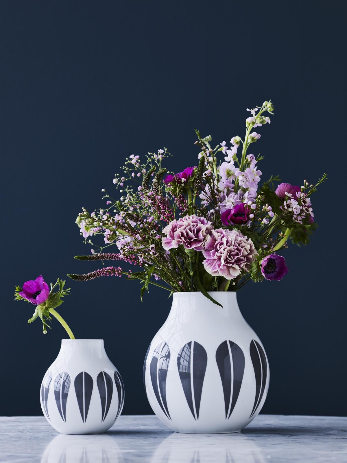 Lotus vases.