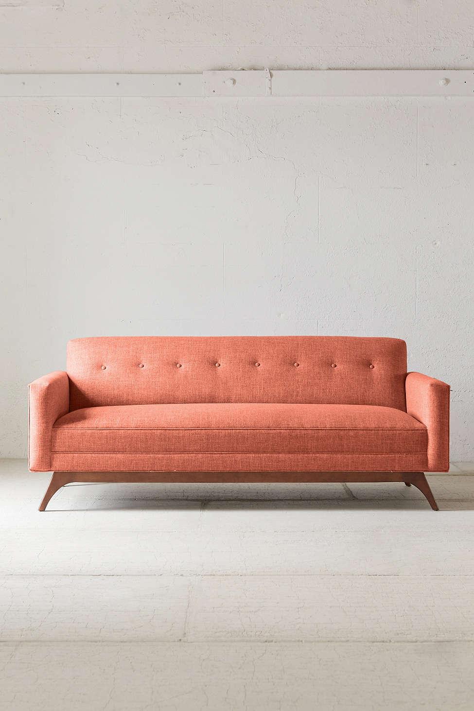 Atomic Sofa in Orange