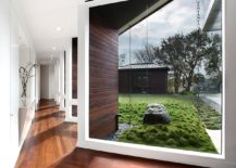 Beautifully framed views bring the landscape indoors