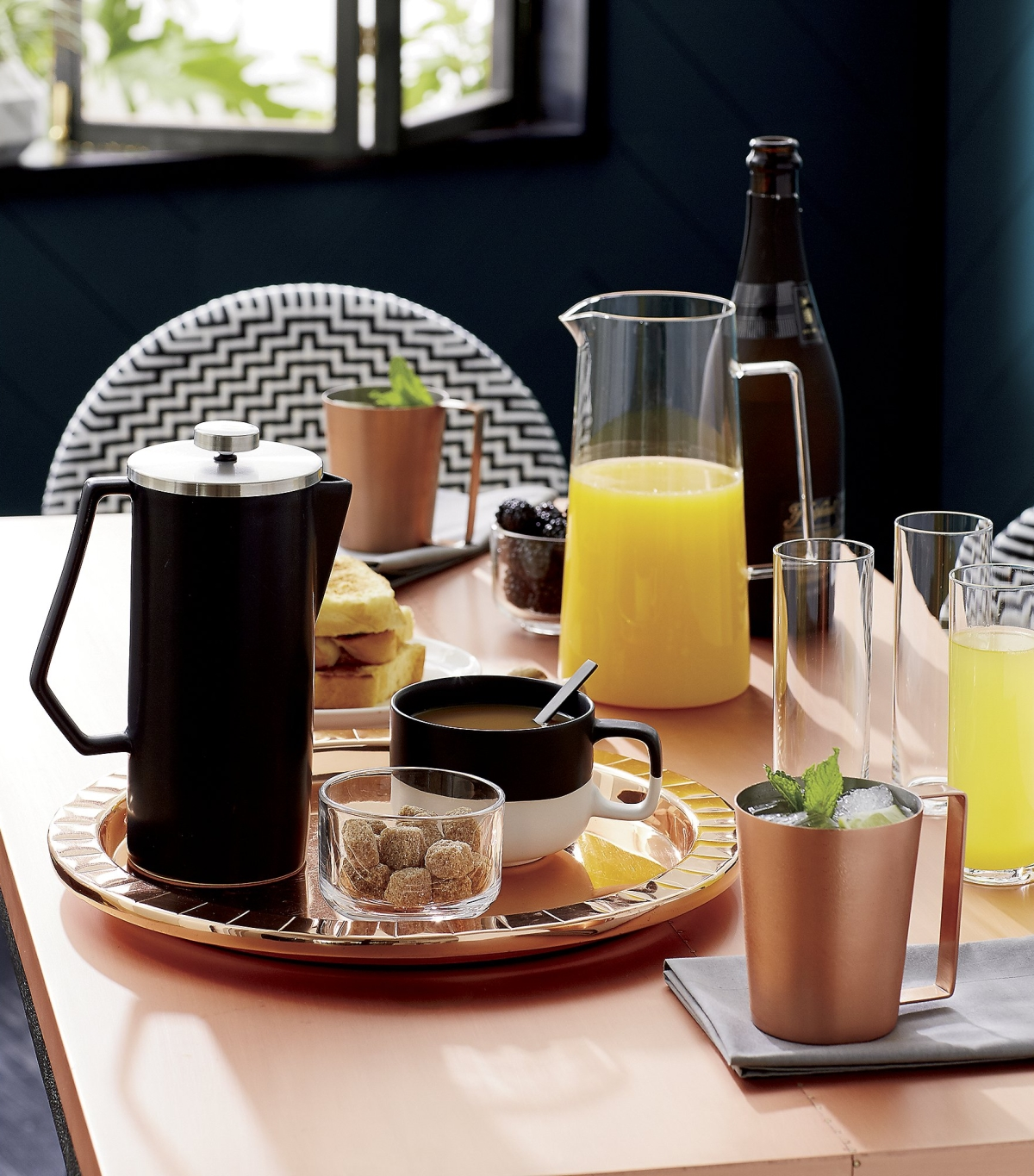 Brunch style from CB2