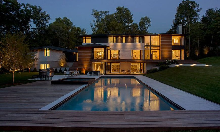 Ledgewood Residence: From Wooded Slopes to a Breezy Contemporary Abode
