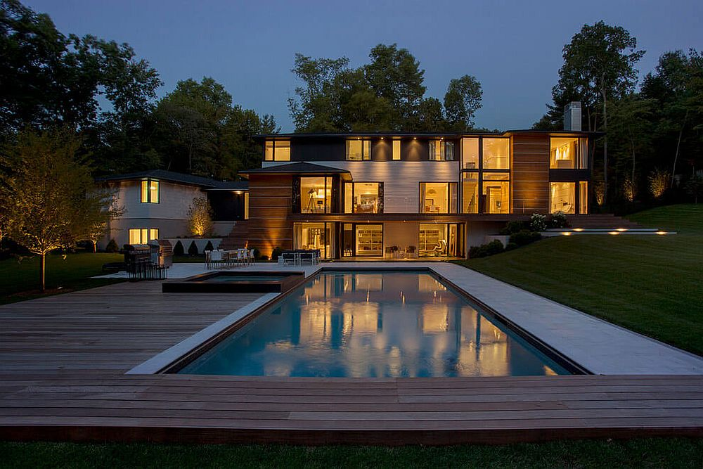 Contemporary Ledgewood Residence by LDa Architecture & Interiors