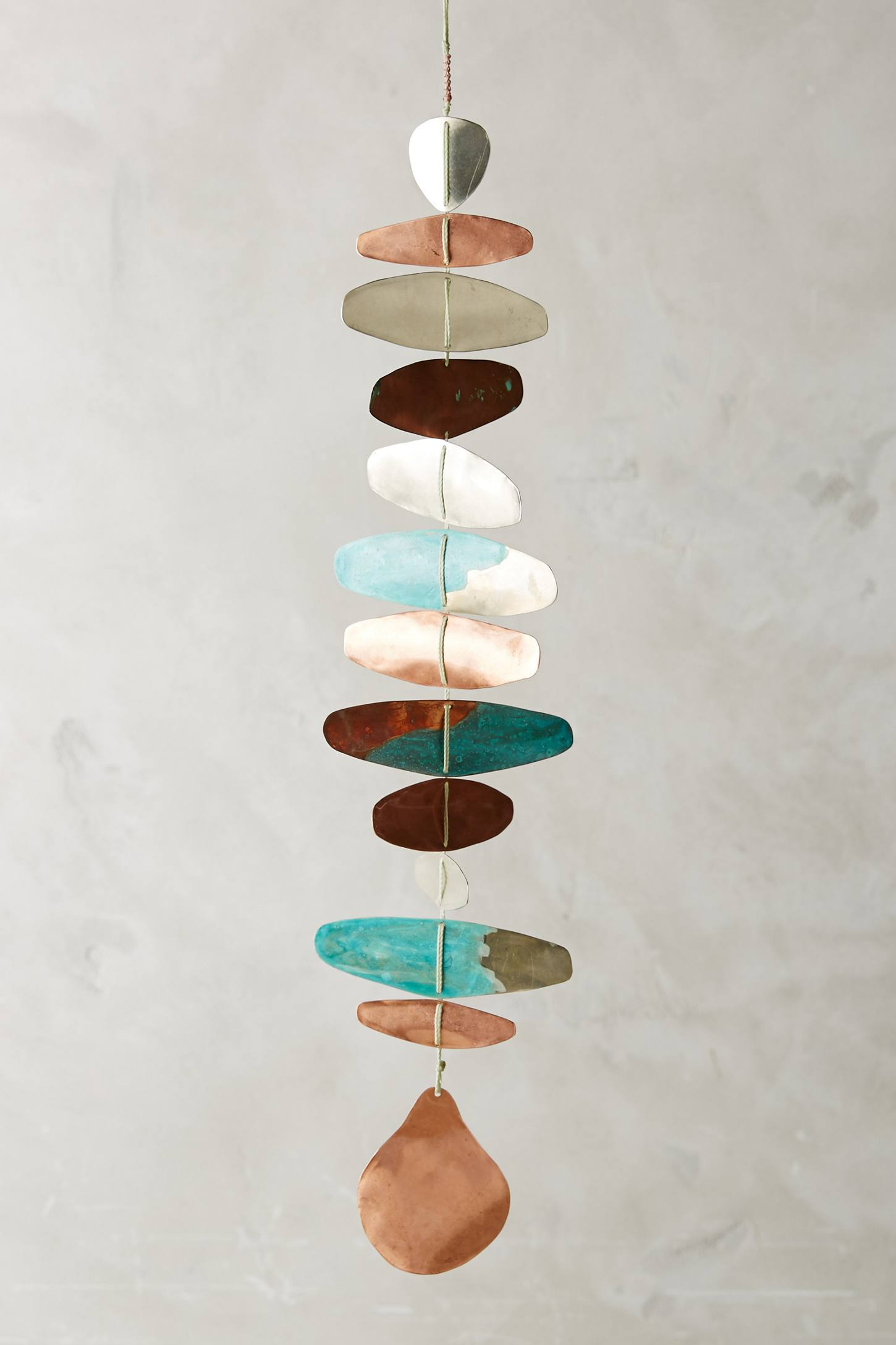 Copper art from Anthropologie
