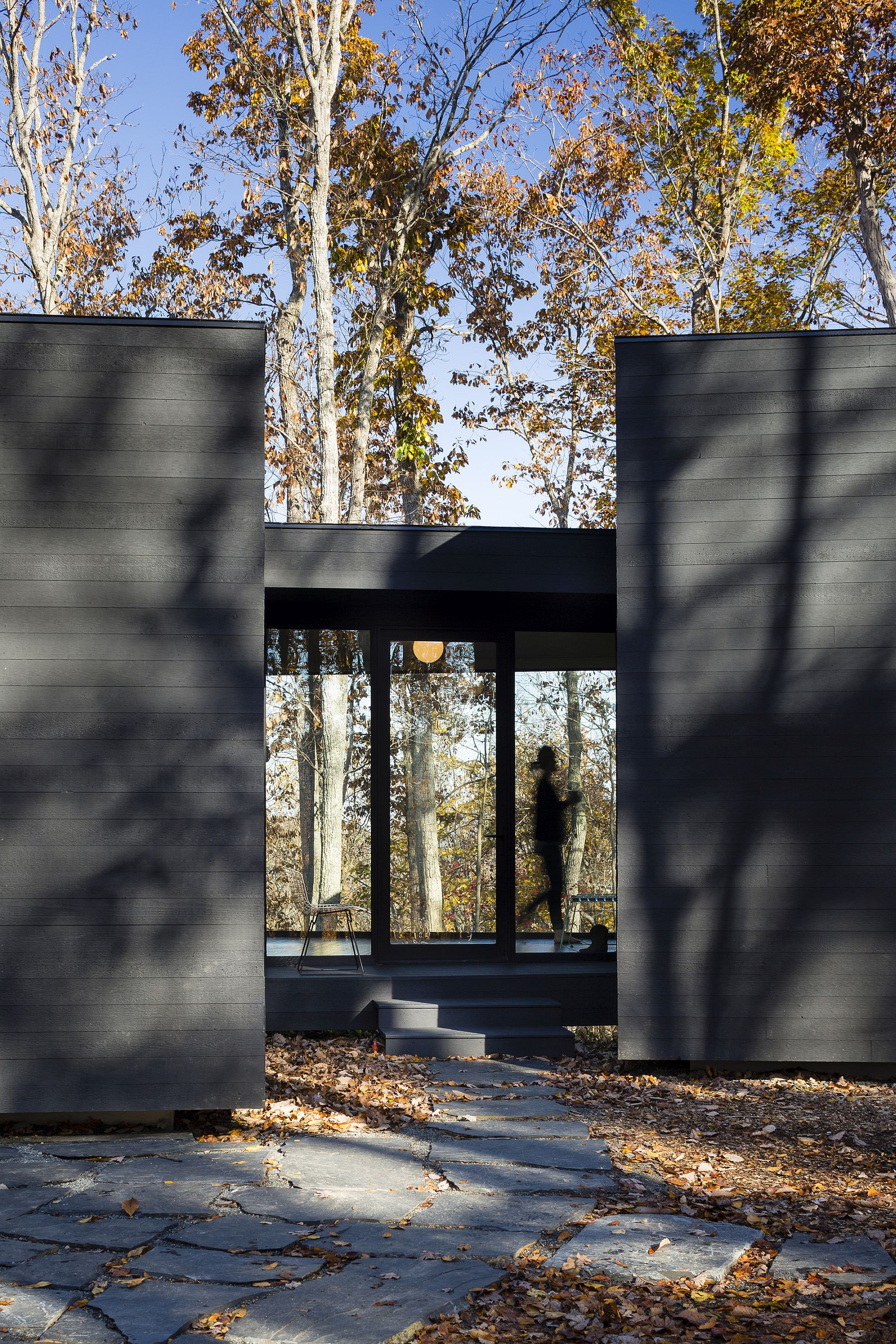 Covered walkways connect the different individual structures