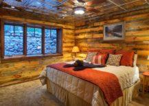 Cozy-rustic-bedroom-clad-in-wood-and-metal-217x155