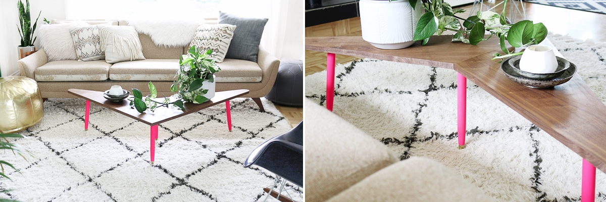DIY coffee table from Hello Lidy